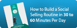 Social Selling Routine