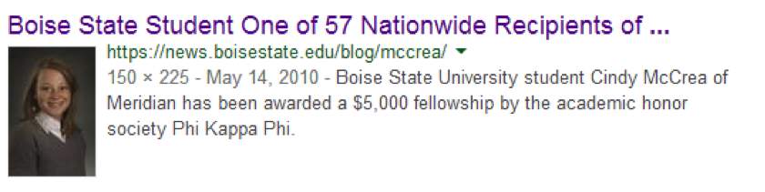 Boise State Student