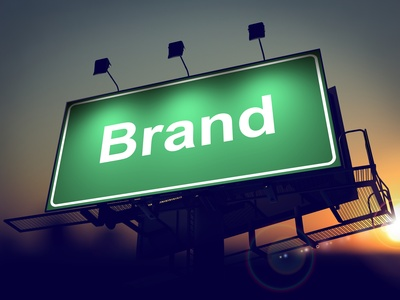 Brand on Green Billboard