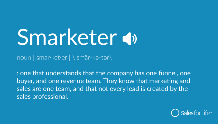 Definition of Smarketer