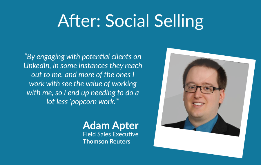 Social Selling After Adam Apter