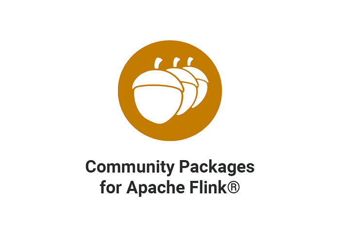 Announcing Flink Community Packages