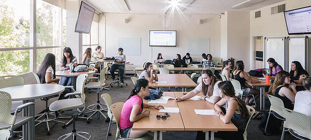 Classroom Design Guidelines Higher Education ~ Get schooled in higher education classroom design trends
