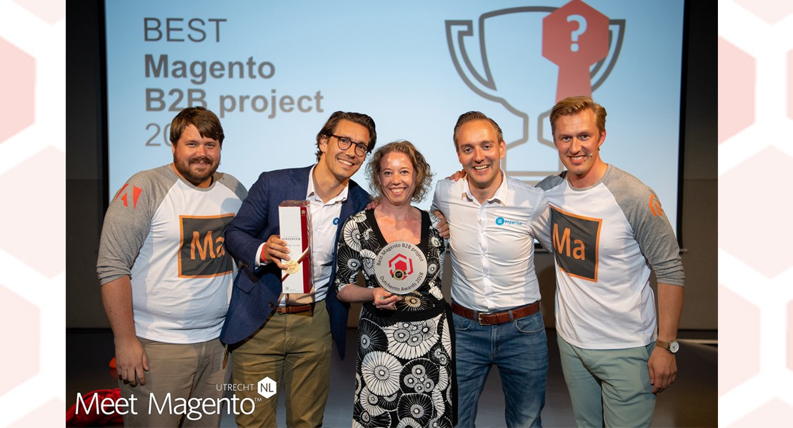 Experius wint best Magento B2B project