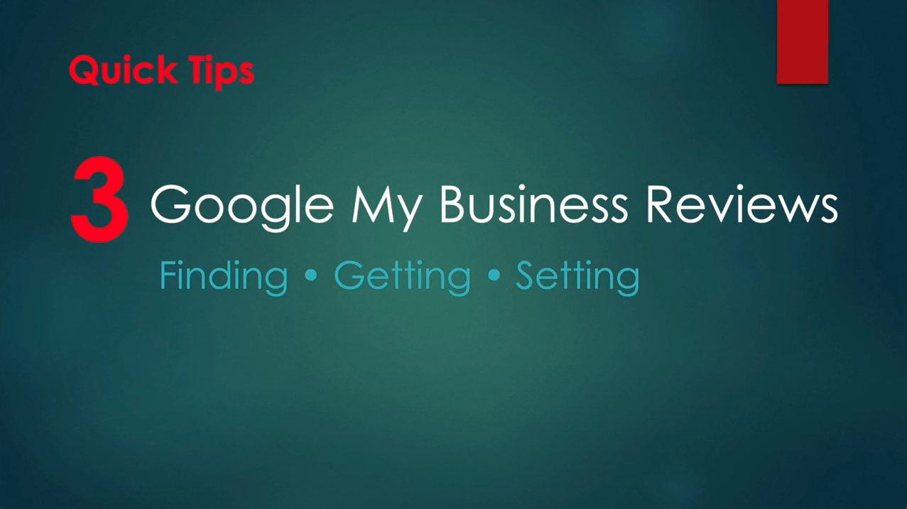 Confused on Google Reviews? Check out our Quick Tips