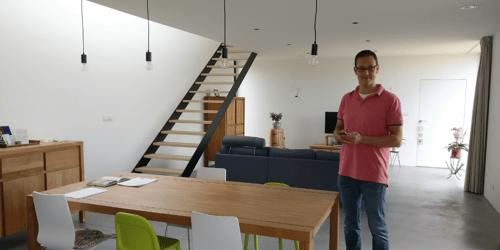 Construire sa maison : le témoignage de Vincent, client Brainbox.