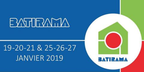 Rejoignez BRAINBOX au salon Batirama à Tournai Expo du 19 au 21 janvier et du 25 au 27 janvier 2019.