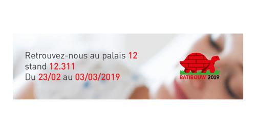 BRAINBOX participe à Batibouw 2019