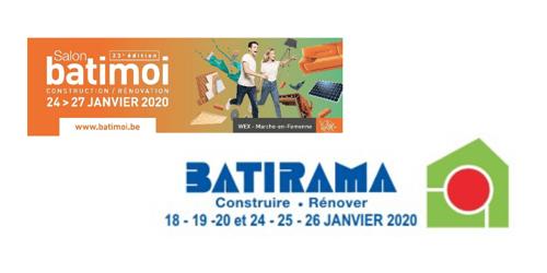 Retrouvez Brainbox sur salon à Batirama (Tournai) et Batimoi (Marche)