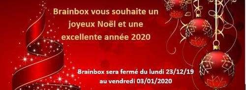 Joyeux Noël et Bonne Année 2020 de l'équipe Brainbox
