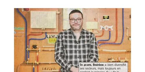 Brainbox, leader du DIY dans la presse