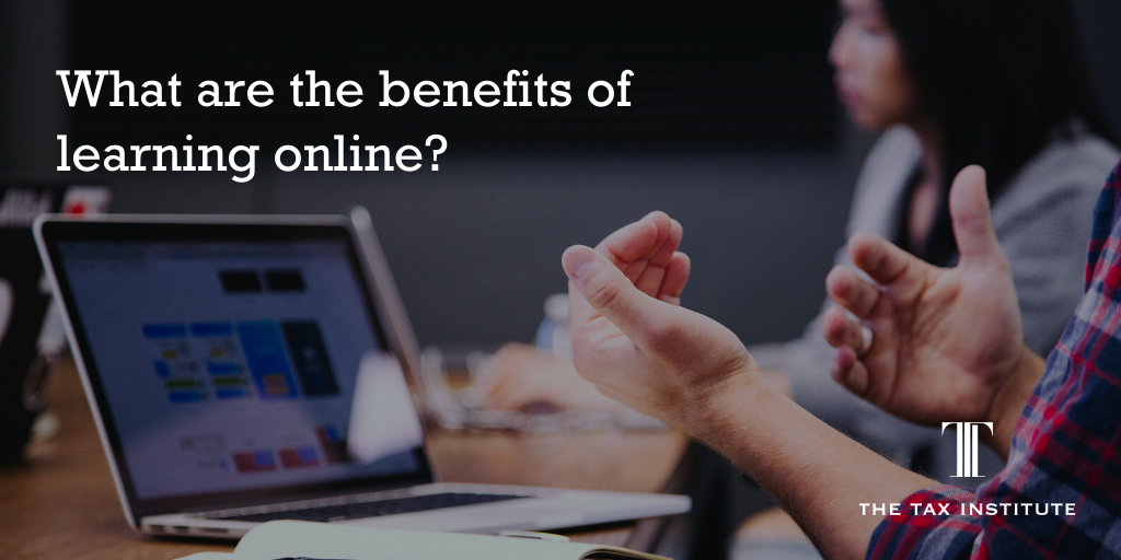 the benefits of learning tax online