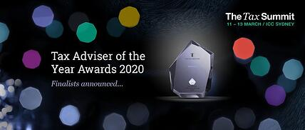 Tax Adviser of the Year awards 2020 - Finalists revealed!