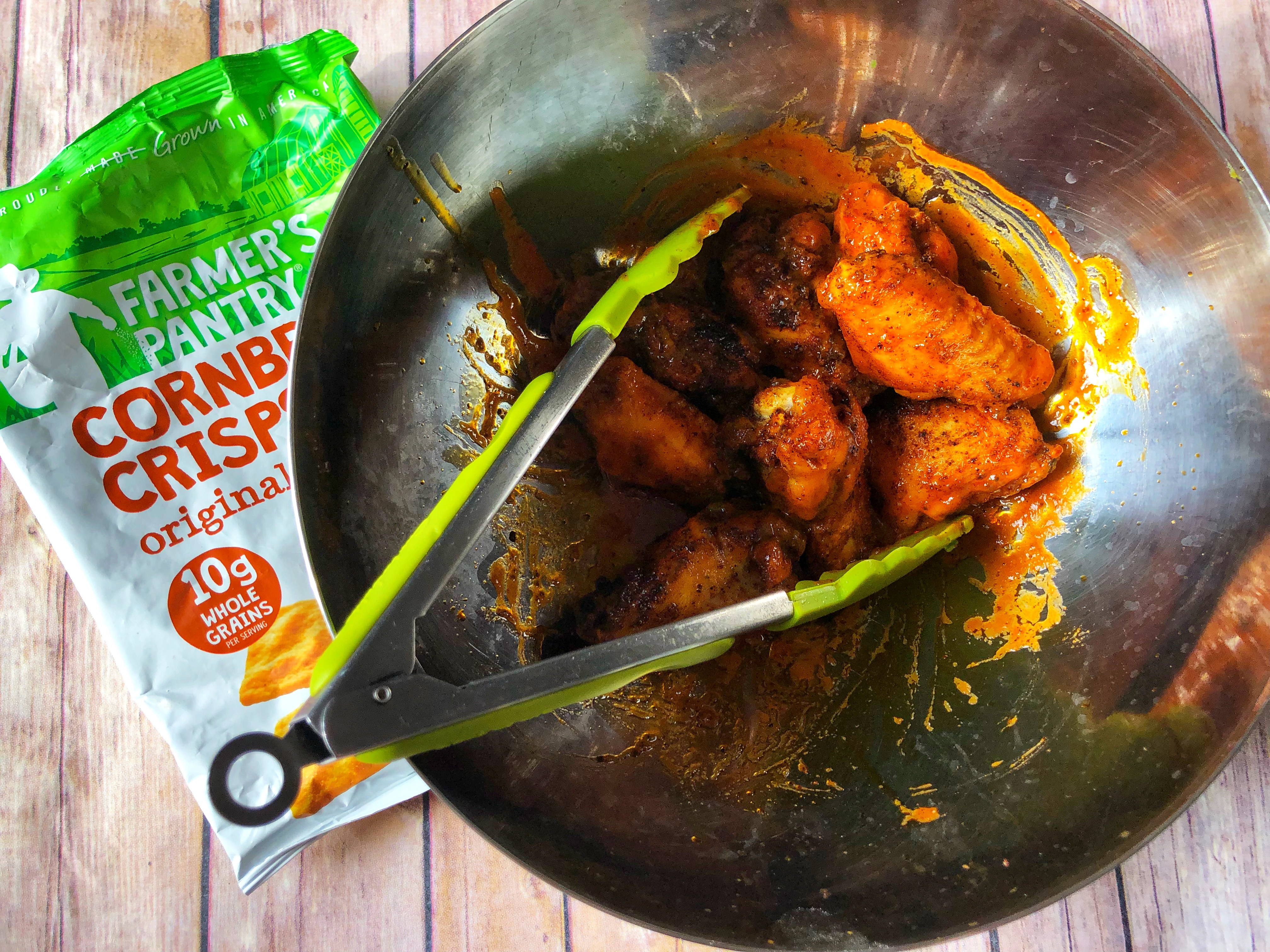 Farmer's Crispy Buffalo Chicken Wings