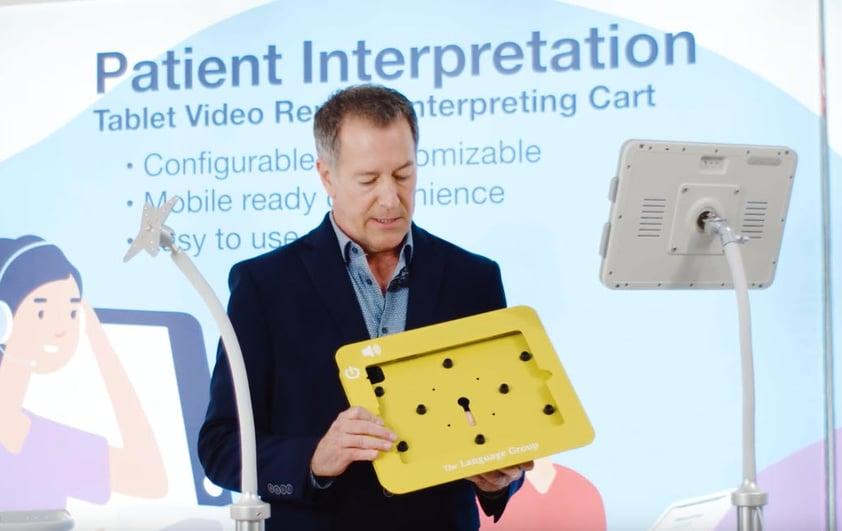 Patient Interpreter Cart