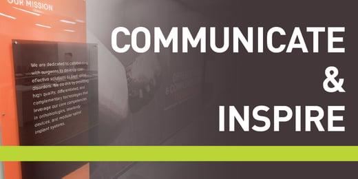 Communicate & Inspire