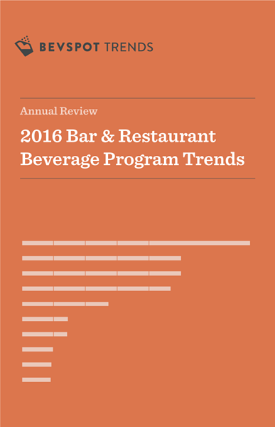 2016 Beverage Program Trends