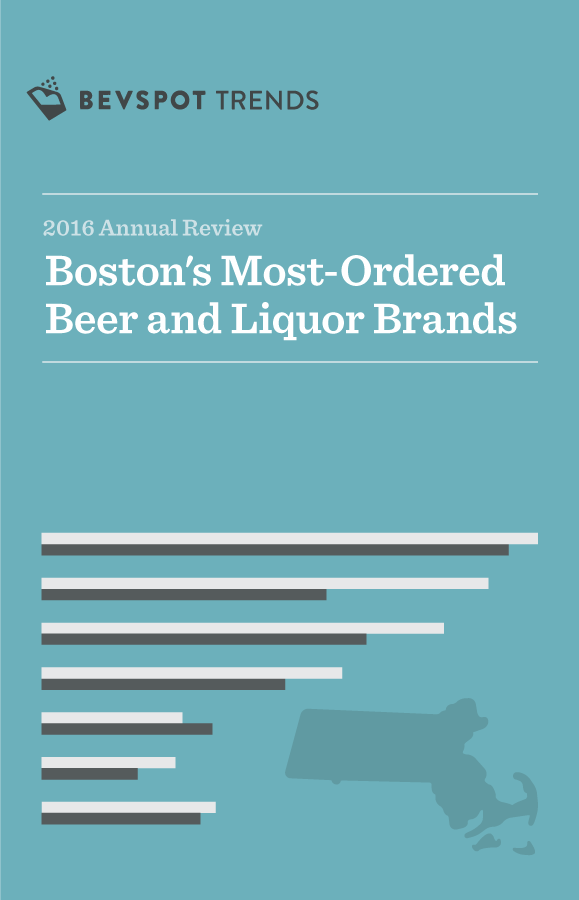 Boston's Most-Ordered Beer and Liquor Brands in 2016