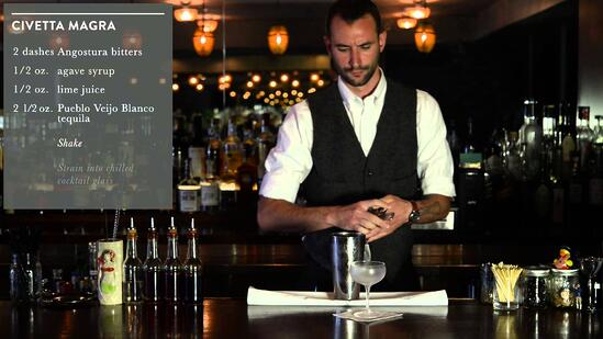 Crafting Cocktails: Ryan Lotz's Civetta Magra