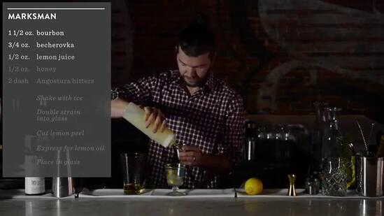 Crafting Cocktails: Sean Earley's Marksman Drink Recipe
