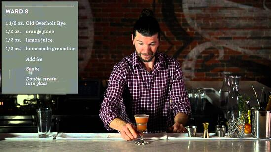 Crafting Cocktails: Sean Earley's Ward 8