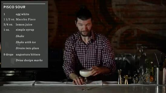 Crafting Cocktails: Sean Earley's Pisco Sour