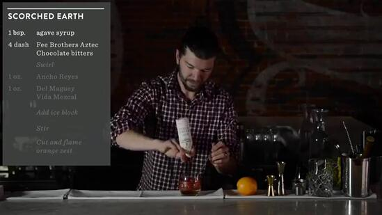 Crafting Cocktails: Sean Earley's Scorched Earth Recipe