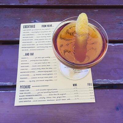 2-Minute Tuesdays: Designing a Successful Drink Menu