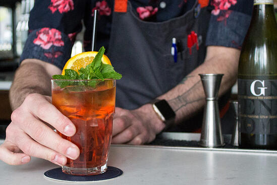 Crafting Cocktails: Ryan Lotz's Mezzana Spritz