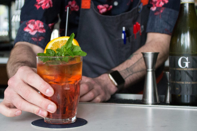 Crafting Cocktails: Ryan Lotz's Mezzana Spritz
