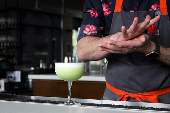 Crafting Cocktails: Ryan Lotz & Jenna Rycroft's Peas and Thank You Recipe