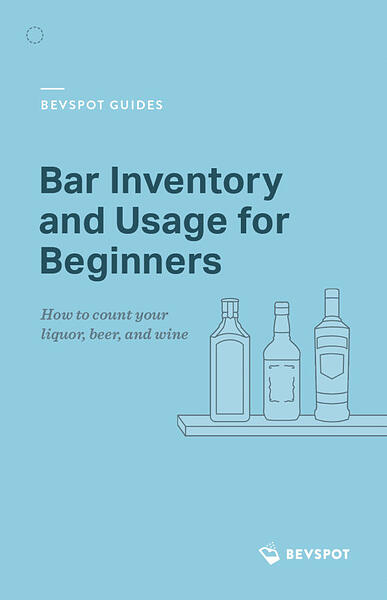 Bar Inventory and Usage for Beginners