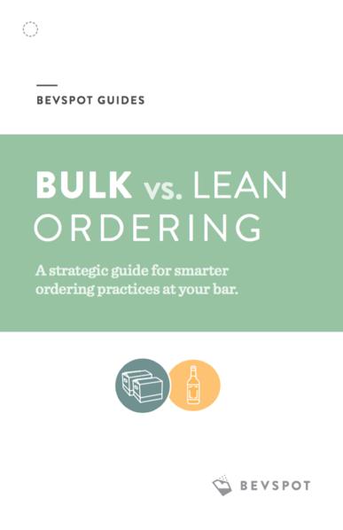 Bulk vs. Lean Ordering Guide