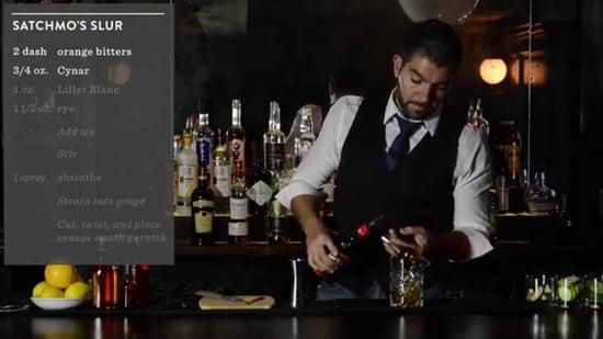 Crafting Cocktails: Paulo Pereira's Satchmo's Slur