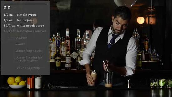 Crafting Cocktails: Paulo Pereira's DID