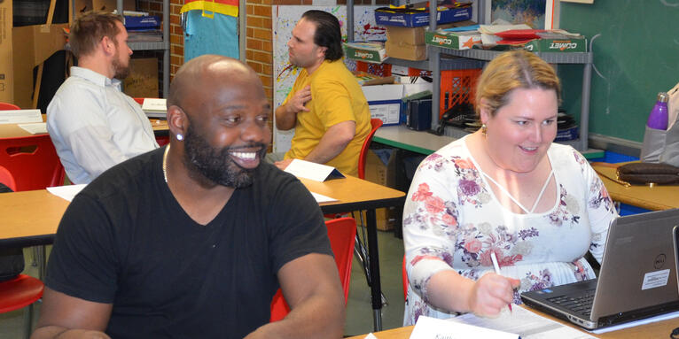 Teachers Focus on Moving Students Up Two Grade Levels in Reading and Math