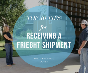 How to Receive Your Freight Shipment