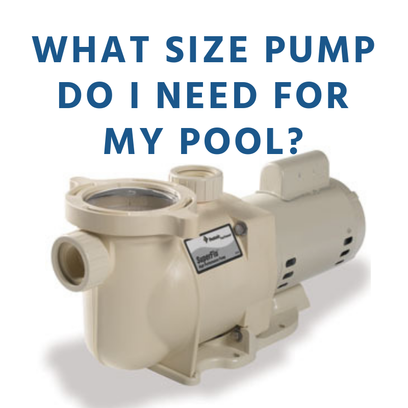 What Size Pump Should I Get for My Pool?