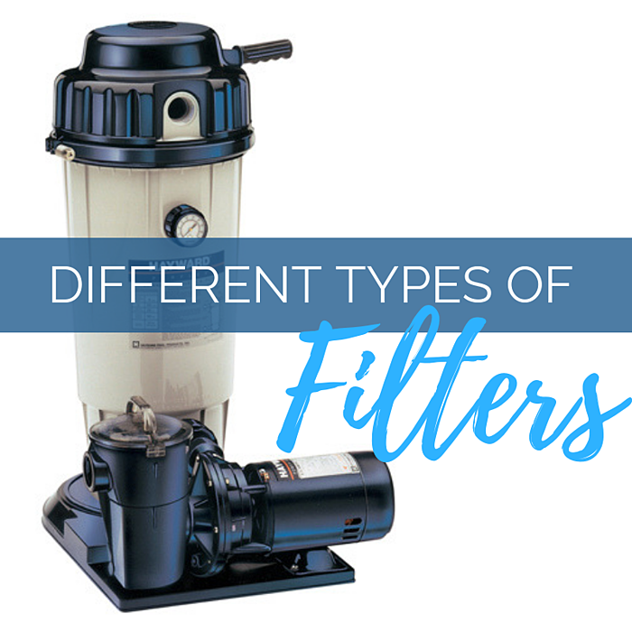 What are the Different Types of Pool Filters? (Sand, Cartridge & D.E.)