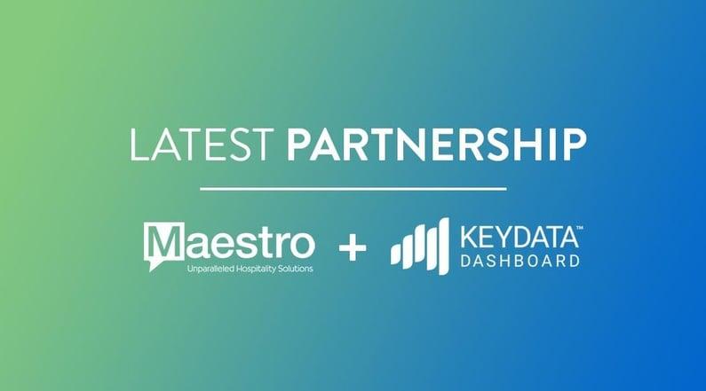 Maestro Partners with Key Data Dashboard