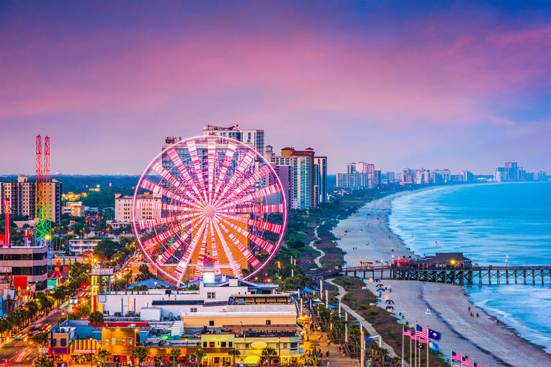 Myrtle Beach Vacation Rental Performance Changes from 2017-2019
