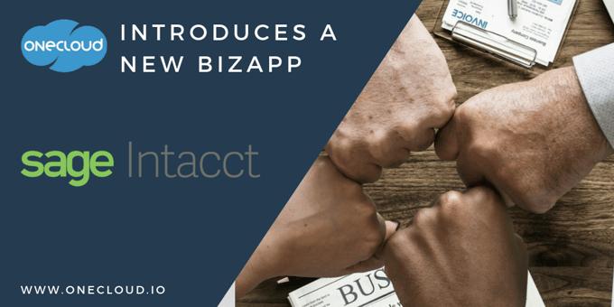 Introducing the Sage Intacct BizApp