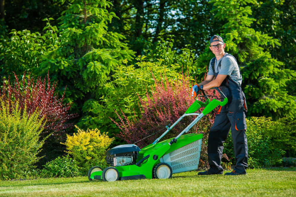 ContractorWithLawnMower