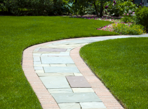Edging sidewalks and pathways, 8 Easy Yard Care Tips to Help Sell Your Home