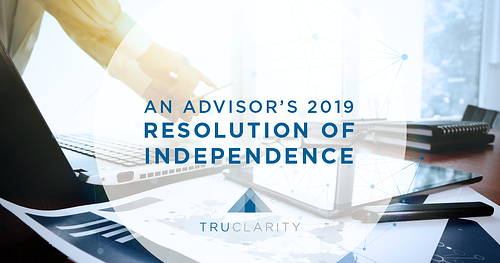 An Advisor's 2019 Resolution of Independence