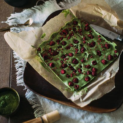 White Chocolate Matcha Bark Recipe