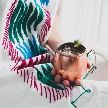 Chai Bourbon Mule Recipe
