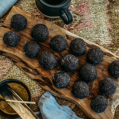 Oolong-Infused Bourbon Balls Recipe