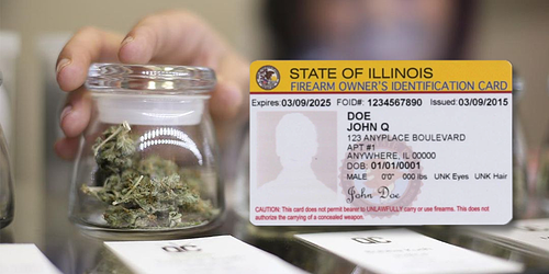 marijuana and your FOID card