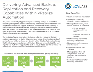 Delivering Advanced Backup, Replication and Recovery Capabilities Within vRealize Automation